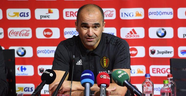 Martinez licht tipje van de sluier: Oefenen tegen Europese tegenstanders
