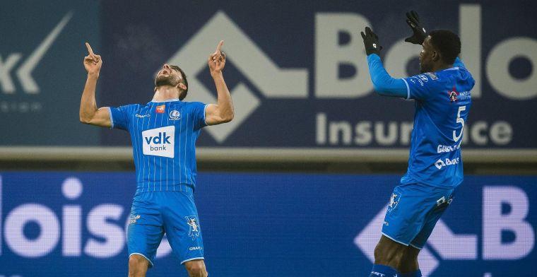 KAA Gent walst over tegenstand: Iedereen heeft het schitterend gedaan