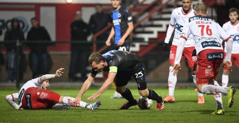 Club Brugge wijst na gelijkspel naar veld van KV Kortrijk: Echt slecht
