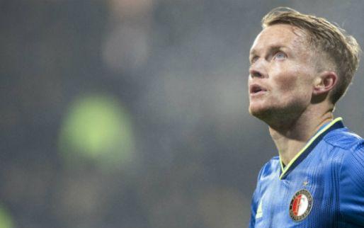 Larsson ontbreekt tegen Fortuna Sittard, Feyenoord dient verzoek in bij KNVB