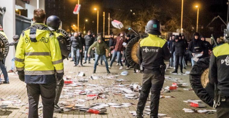 Ontwikkeling binnen harde kern PSV baart zorgen: 'Geweld gebruiken onacceptabel'