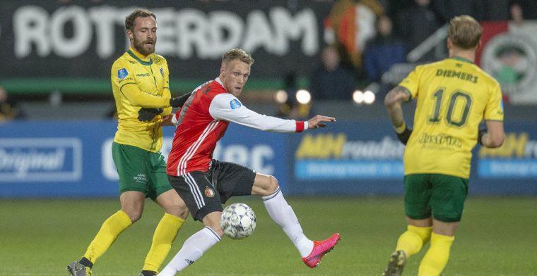 Problemen bij Feyenoord na blessure Jörgensen: 'Verwacht niet dat hij al klaar is'