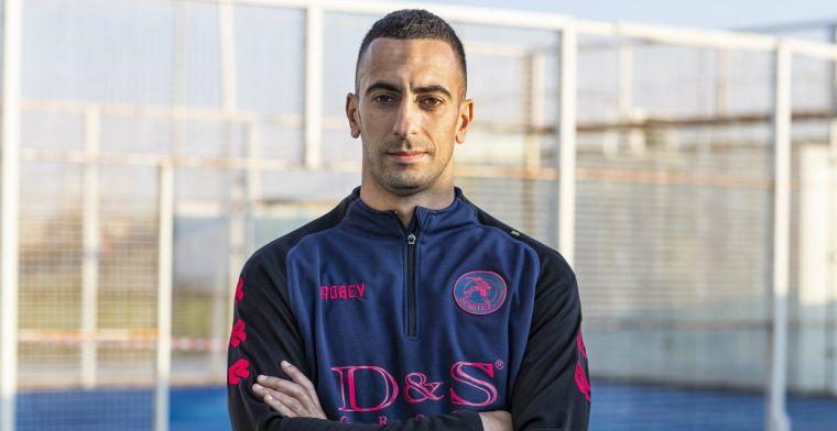 Sparta-aanvoerder blijft club trouw en speelt ook volgend seizoen in Rotterdam