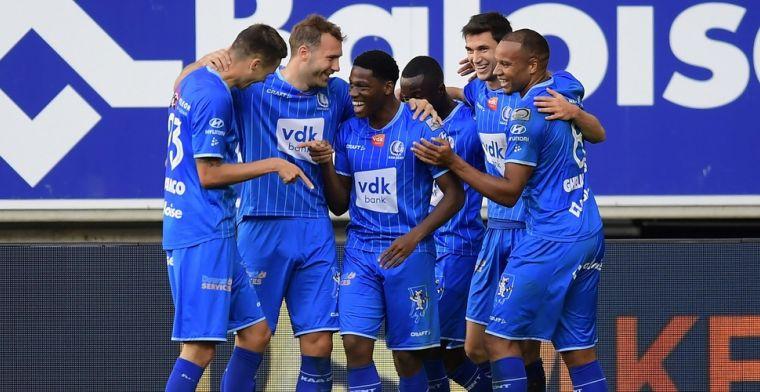 KAA Gent heeft een duidelijke boodschap gestuurd naar Club Brugge