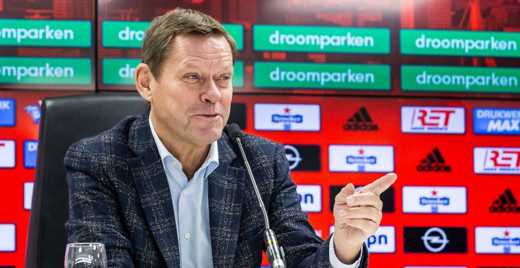 Arnesen happy: Normaal gesproken zou hij niet haalbaar zijn voor Feyenoord