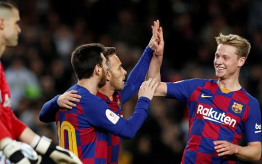Afbeelding: Vijfklapper Barça in doodeenvoudige Copa del Rey-zege op weerloos Leganés