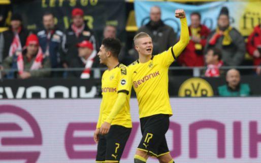 Afbeelding: Fenomeen Haaland stoomt door bij Dortmund, St. Juste redt eer Mainz tegen Bayern