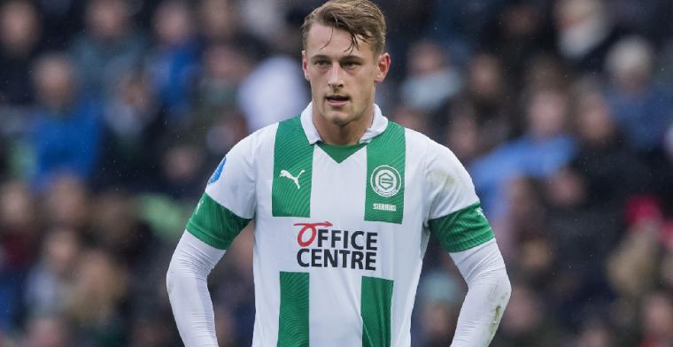 Sierhuis: 'Ik wist nog niet of FC Groningen wel met me door wilde'