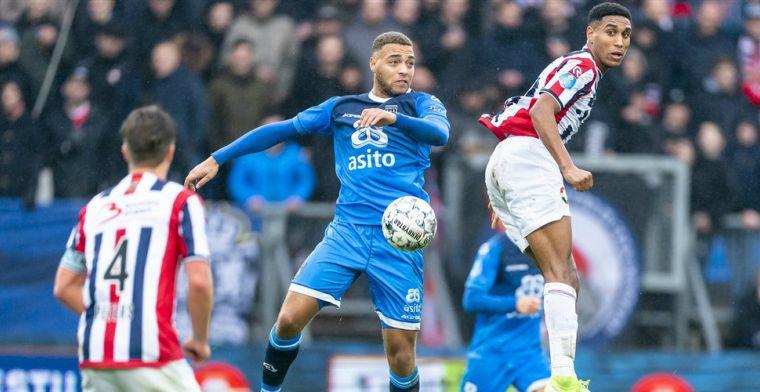 Willem II weer naast Feyenoord: Heracles legt het af in vermakelijk gevecht