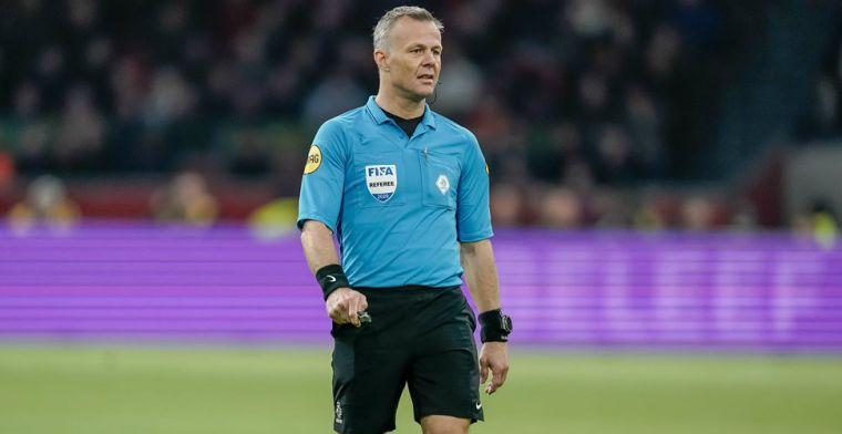 Kuipers geeft uitleg bij moment met Dest en Boscagli: 'Voorkeur voor penalty'