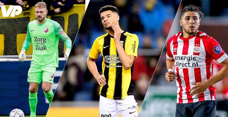 PSV's huurlingenleger: keepers op weg naar uitgang, kansen voor Obispo en Mauro