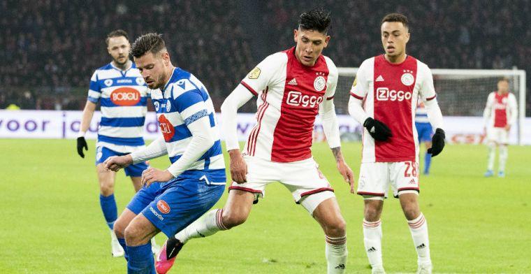 Interesse in ongelukkige Ajax-speler: 'Twee grote Europese clubs wilden me huren'