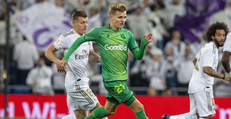 'Real overwoog Odegaard te verkopen aan Ajax, maar ziet nu veel toekomst in Noor'