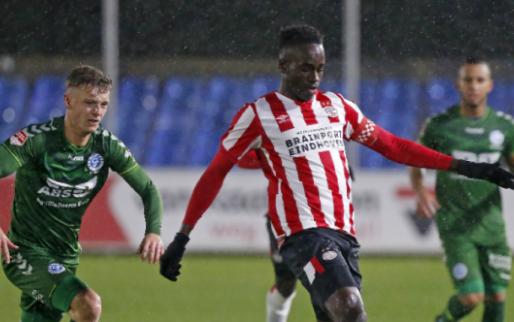 Afbeelding: De Graafschap wint spektakelstuk van Jong PSV, duur puntenverlies Volendam