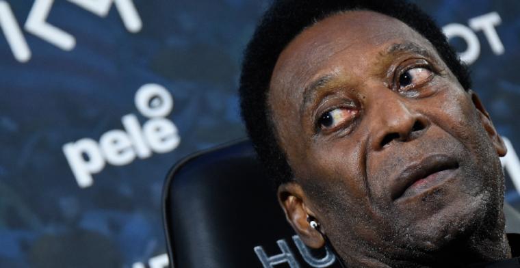Update: Pelé weerlegt berichten over zijn depressie: 'Ik voel me goed'