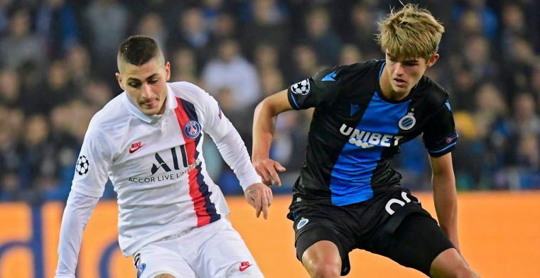 UPDATE: De Ketelaere pronkt met zijn eerste prijs bij Club Brugge