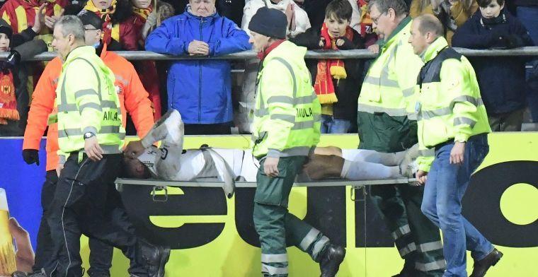 Nieuwe tegenslag voor Mechelen-doelman Thoelen: Heb paar keer geweend