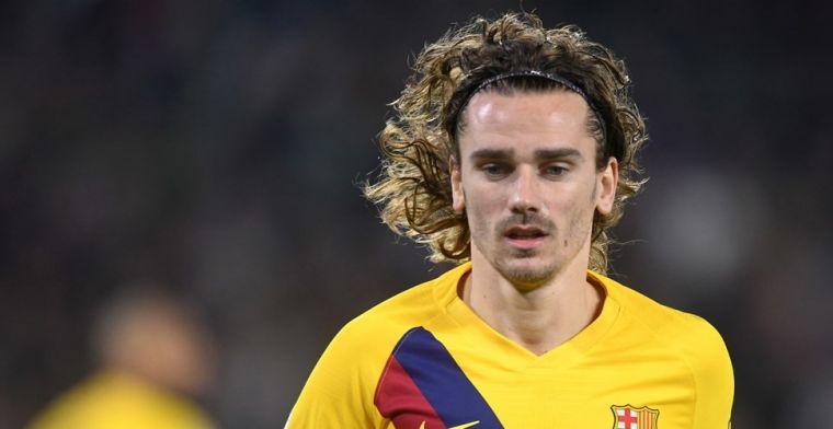 Ophef om vermeende uitspraken van Griezmann: 'Barça-spelers zijn jaloers op mij'