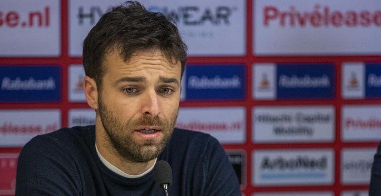 Boze fans FC Twente wachten spelersbus op en willen dat García vertrekt
