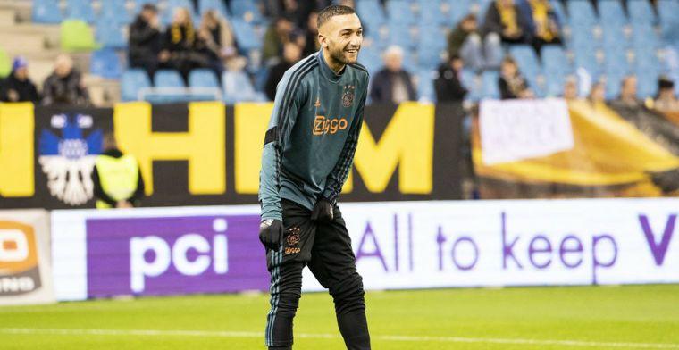 'Compleet plaatje' voor Ziyech: 'Team vol talent, goede klik met Lampard'