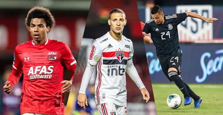 Kandidaat-opvolgers van Ziyech bij Ajax: Stengs, Ihattaren en twee favorieten
