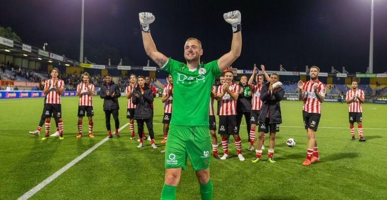 Voormalig Sparta-doelman nog zonder club: 'Fase waarin ik alles aan moet grijpen'