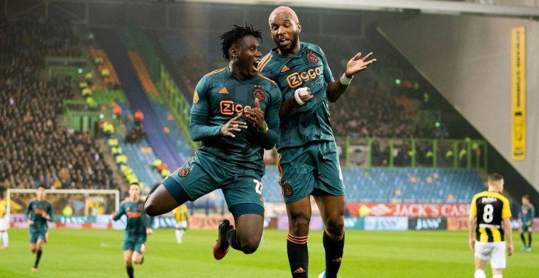 LIVE: KNVB Beker: Ajax en NAC bekeren verder, rentree Blind en Ziyech (gesloten)