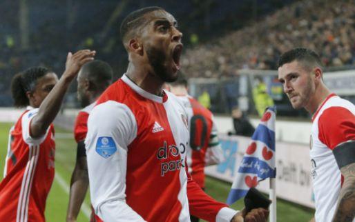 Feyenoord dankt Fer en eert De Leeuw met bekersucces in Heerenveen