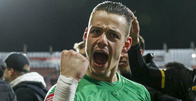 Directe promotie blijft doel na nieuwe bekerstunt: 'NAC moet de Eredivisie in'