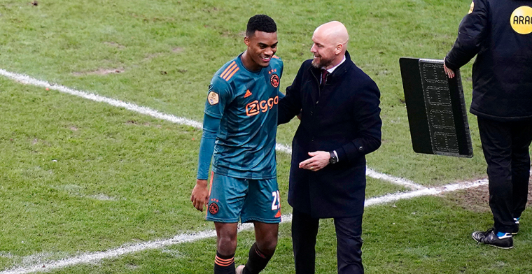 Gravenberch zelfkritisch over rol in Ajax 1: 'Je kunt niet stoppen of verzwakken'