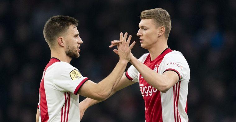 'Ik wil volgend seizoen nummer één zijn bij Ajax, daarna wil ik nog stap hogerop'
