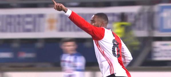 Alles komt samen: supporters zingen voor De Leeuw, Fer zet Feyenoord op voorsprong