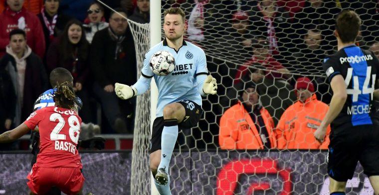 Mignolet kan niet winnen bij Club Brugge, maar: Dat maakt me blij