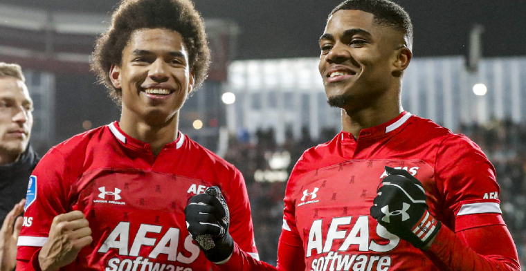 'Transferban voor Stengs en Boadu naar Ajax werkt als boemerang voor AZ'