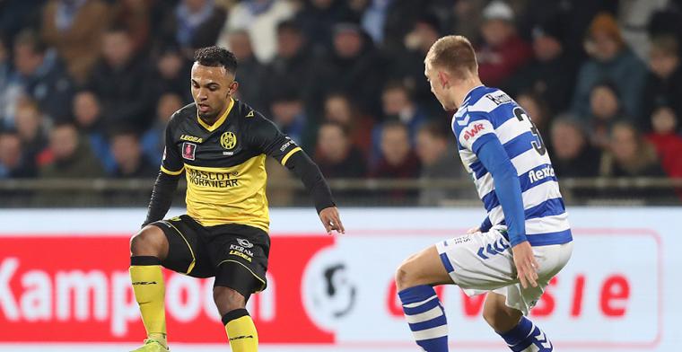 FC Volendam grote verliezer van het weekend, Cambuur en De Graafschap winnen wél
