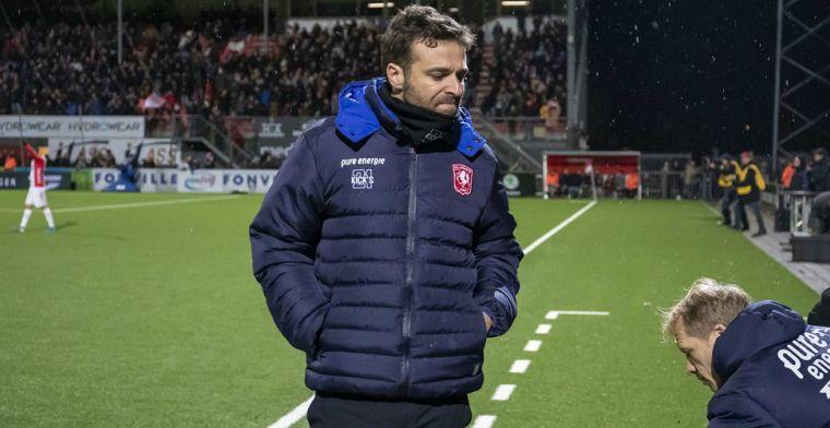 'García is volgend jaar geen trainer van Twente meer, niet meer tegen te houden'