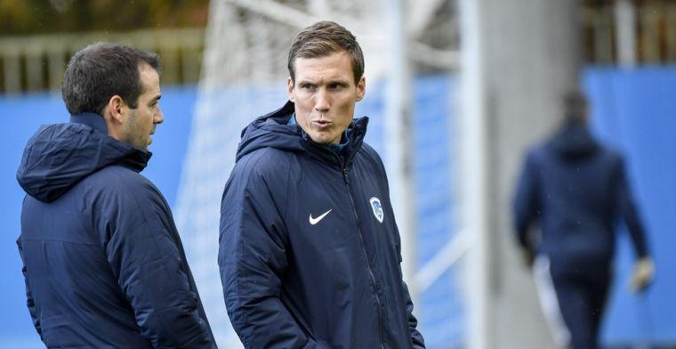 """KRC Genk-coach Wolf na Antwerp: """"Het is meer penalty dan geen penalty"""""""