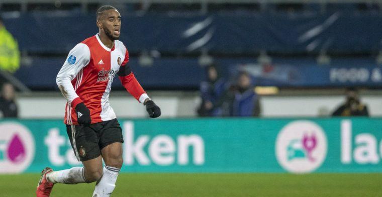 Moeilijke avond voor Feyenoord-spelers: 'Persoon die arm over mijn schouder legde'