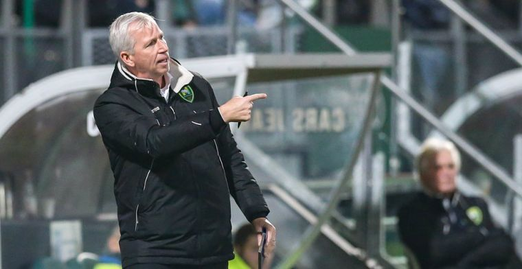 Pardew: Nu is er een nieuwe trainer, maar de spelers veranderen niet