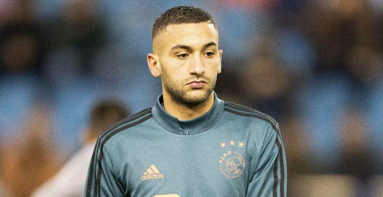 'Club van Van Persie en Özil. Schitterende spelers, waar Hakim tussen zou passen'