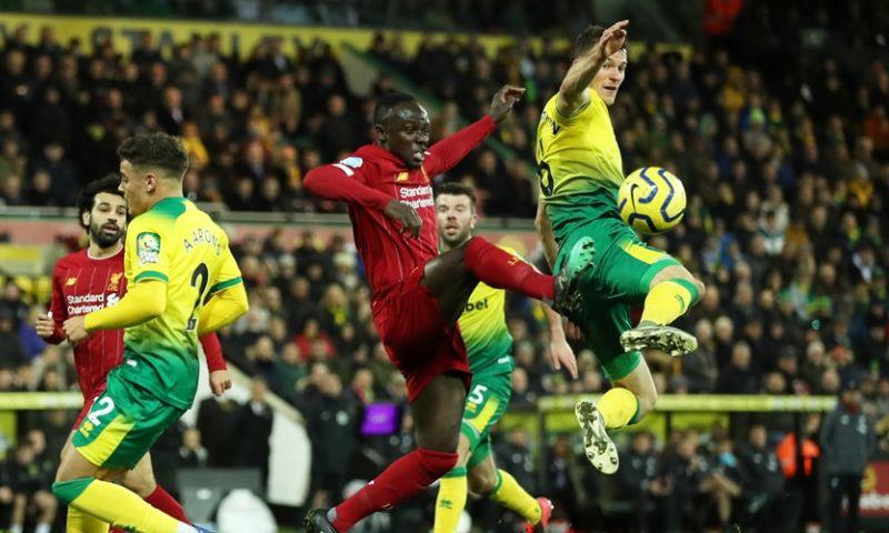 Afbeelding: Liverpool-trein dendert dankzij Mané ook op bezoek bij Norwich City door