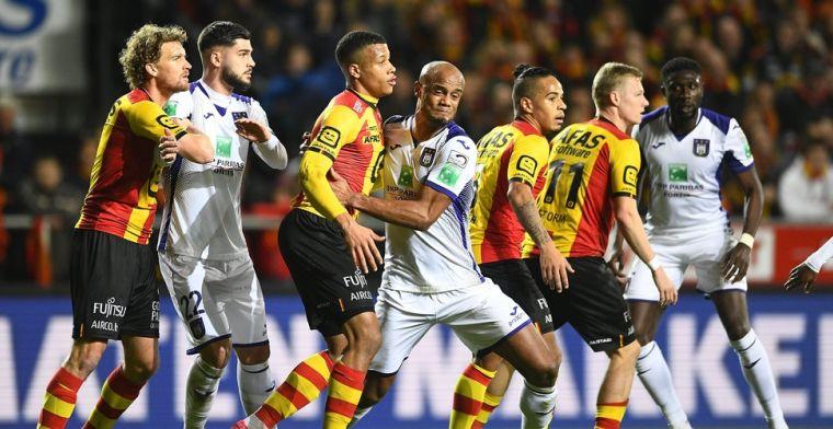 Anderlecht mag ambities van Play-Off 1 zo goed als opbergen na pijnlijk verlies