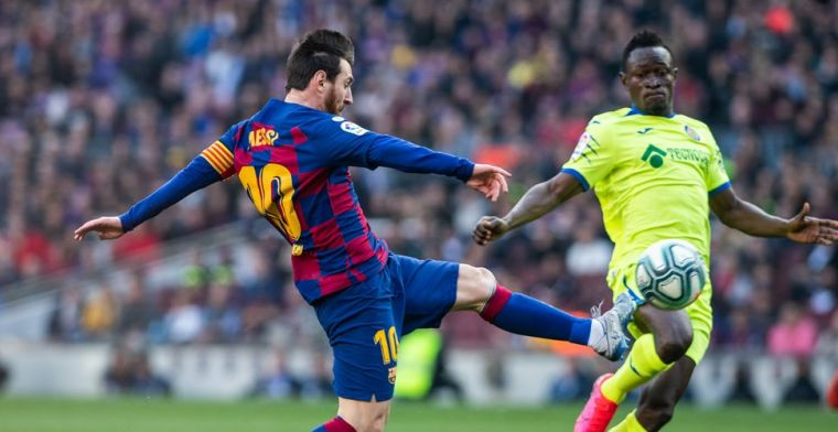 Barça bedwingt Ajax-opponent Getafe met pijn en moeite en boekt belangrijke zege