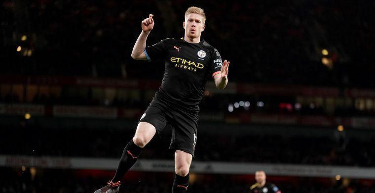 'Ik denk dat De Bruyne zal zeggen dat hij wil vertrekken bij Manchester City'