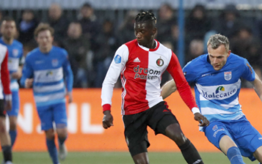 Afbeelding: Feyenoord dankzij Berghuis en Bozeník langs PEC in spektakelstuk