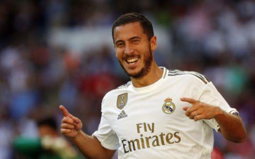 Afbeelding: Terug van weggeweest: penaltyfout op Hazard sleept Real door moeilijk moment