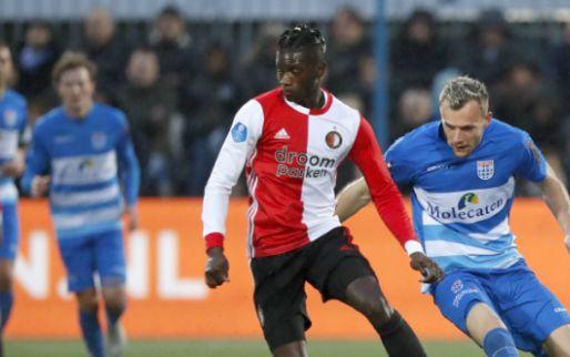 LIVE: Bozenik maakt eerste treffer en schiet Feyenoord op voorsprong (gesloten)