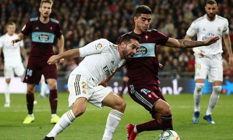 Afbeelding: Real laat zich verrassen: Celta vloert Courtois twee maal bij terugkeer Hazard
