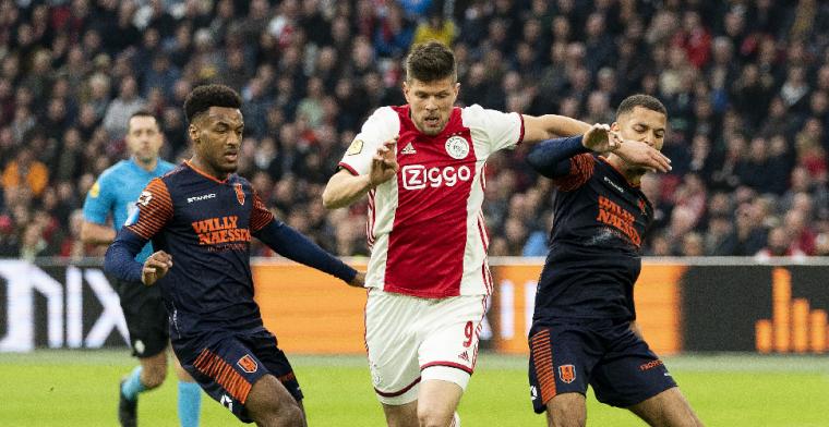 'Jonge hond' Huntelaar maakt indruk bij Ajax: Hey, die heeft er zin in