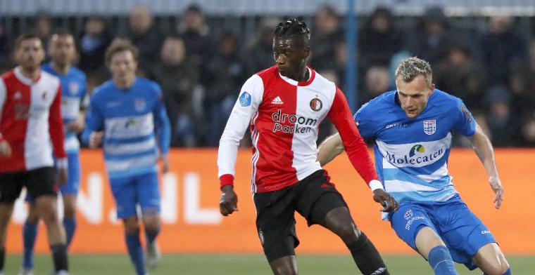 Feyenoord dankzij Berghuis en Bozeník langs PEC in spektakelstuk